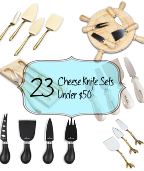 23 Cheese Knife Sets Under $50