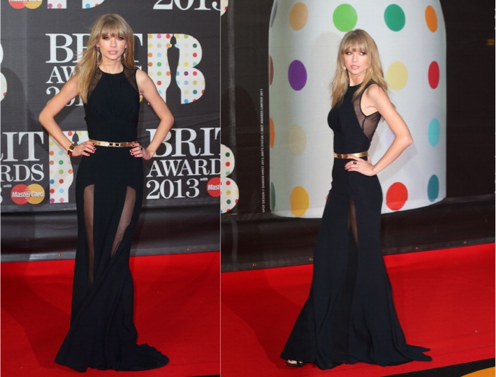 Taylor Swift In Elie Saab – 2013 Brit Awards - GLAMAZON DIARIES